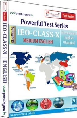 Practice guru Powerful Test Series - IEO Medium English (Class 10)