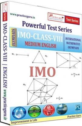 Practice guru Powerful Test Series - IMO Medium English (Class - 8)