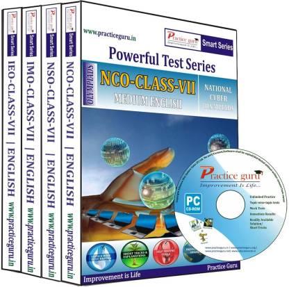 Practice guru Class 7 - Combo Pack (IMO / NSO / IEO / NCO)