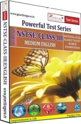 Practice guru Powerful Test Series NSTSE Medium English (Class - 3)