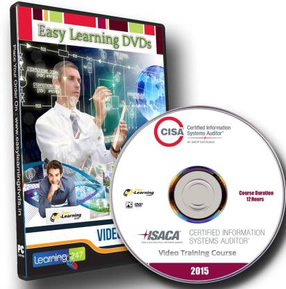 Easy Learning Certified Information Systems Auditor (CISA) 2015 Video Training DVD