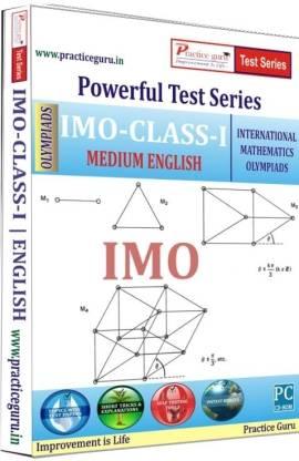 Practice guru Powerful Test Series - IMO Medium English (Class - 1)