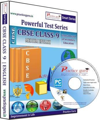 Practice guru Class 9 - Maths, Science & English Combo