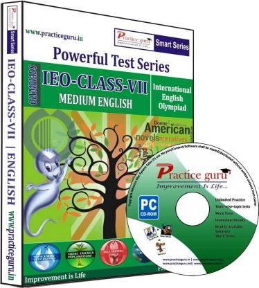 Practice guru Powerful Test Series IEO Medium English (Class - 7)