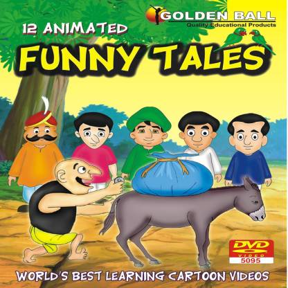Golden Ball 12 Animated Funny Tales