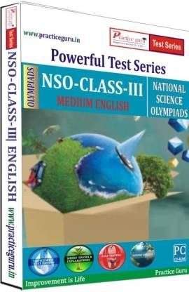 Practice guru Powerful Test Series - NSO Medium English (Class - 3)