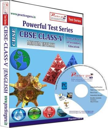 Practice guru Class 5 - Maths, EVS & English Combo Test Series