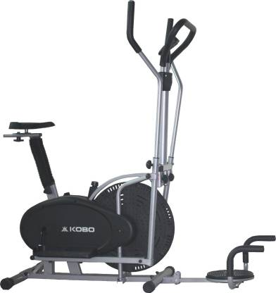 KOBO Multi Orbitrac Elliptical with Twister Upright Stationary Exercise Bike