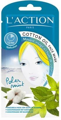 L'action Cotton Oil Face Mask