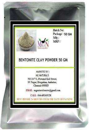 MG Naturals BENTONITE CLAY POWDER