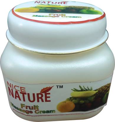 NICE NATURE High Quality Fruit Massage Cream 100gms