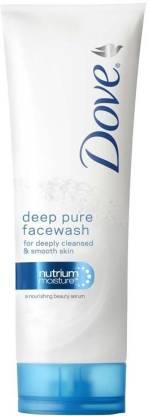 DOVE Deep Pure Moisture Face Wash
