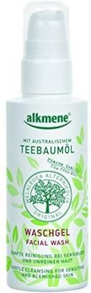 Alkmene Tea Tree Oil Facial Wash Face Wash