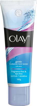 OLAY Gentle Foaming with Aloe Face Wash