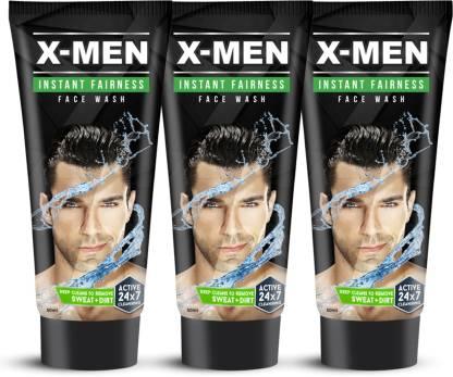 X-Men Instant Fairness 150 g(Pack of 3 x 50 gm) Face Wash