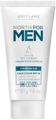 Oriflame Sweden North For Men Fairness Face Cream SPF-18
