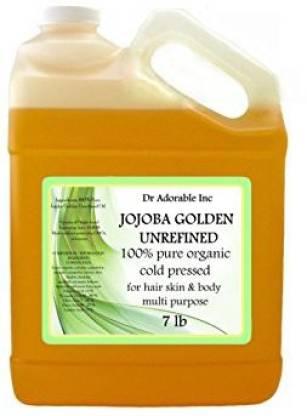 Dr Adorable Oil Golden Organic 100% Pure 128 Oz / One Gallon