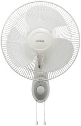 HAVELLS Swing Platina 400mm 55-Watt High Speed (White) 3 Blade Wall Fan