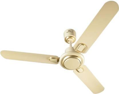 BAJAJ Regal Gold 1200 mm Bianco 1200 mm 3 Blade Ceiling Fan