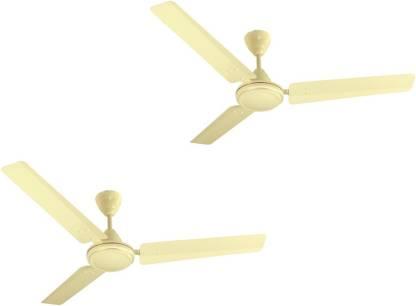 CROMPTON Seawind Pack of 2 1200 mm 3 Blade Ceiling Fan