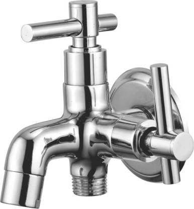KAMAL Two In One Bib Cock - Q/T (Kml-2418) Twin Elbow Valve Faucet