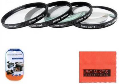 Big Mike s 77Mm Close-Up Filter Set (+1, +2, +4 And +10 Diopters) Magnification Kit Close-up Filter