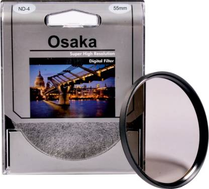 OSAKA 55 mm ND4 Neutral Density ND Filter