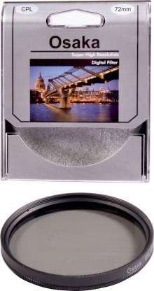 OSAKA 72 mm Circular ( CPL) Polarizing Filter (CPL)
