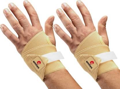 Omtex Adjustable Hand/Thumb Support Hand Grip/Fitness Grip Beige  Omtex Hand Grips