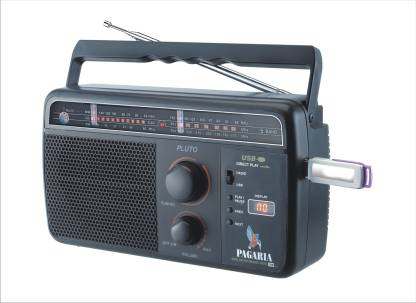 PAGARIA 5 Band, USB Support, Rechargeable Battery FM Radio