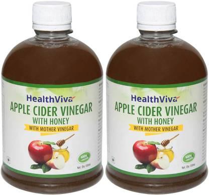 HealthViva HealthViva Apple Cider Vinegar With Honey (pack of 2) Combo