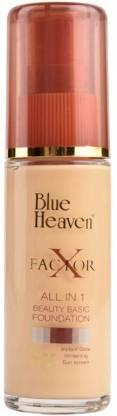 blue heven X Factor 30 ML (Blush) Foundation