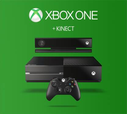 Microsoft Xbox One With Kinect 500 GB