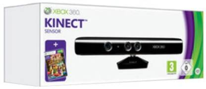 MICROSOFT Xbox 360 with Kinect Adventures