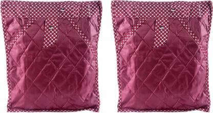 FAVISM Designer 5 Inch Height Side Transparent Large Pant/Jeans/Trouser Cover - Set of 2 Pcs. Maroon00411