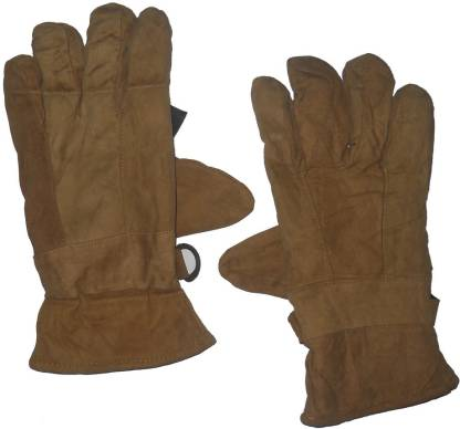 Aadishwar Creations Solid Winter Men Gloves