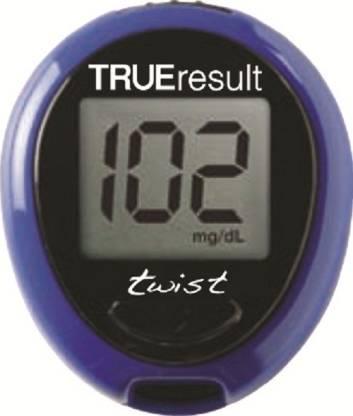 Trueresult Twist Blue Glucometer