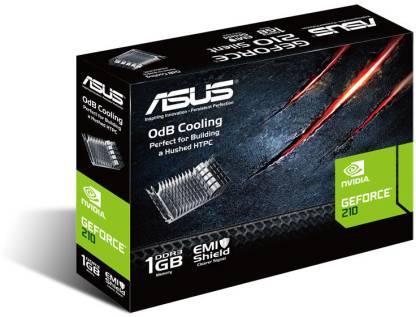 ASUS NVIDIA GeForce 210 1 GB DDR3 Graphics Card