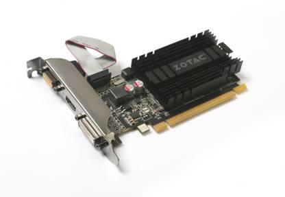 ZOTAC NVIDIA GeForce® GT 710 1 GB DDR3 Graphics Card