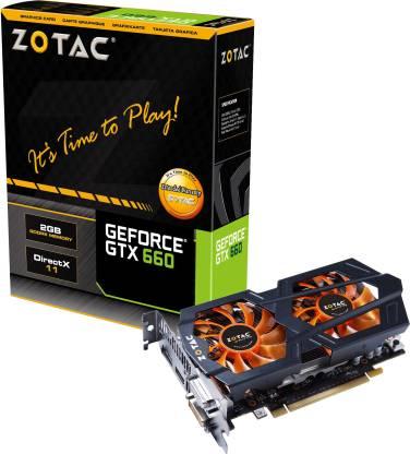 ZOTAC NVIDIA GTX660 192-bit 2 GB DDR5 Graphics Card