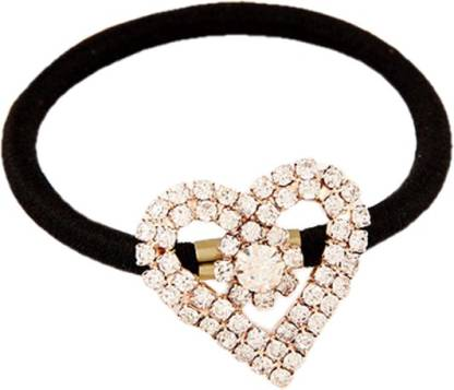 Young & Forever Flirty Heart Hair Band