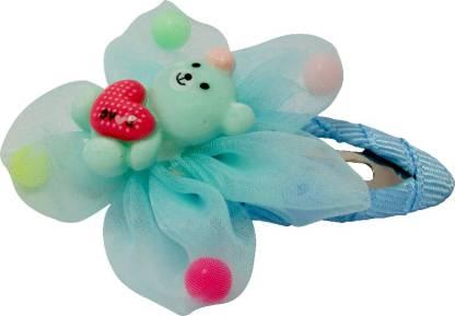 Jewelz Quench Blue Teddy Hair Tic Tac Clip