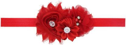 Mamaboo Cool Fancy Red Flower Head Band