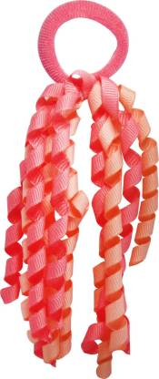 Jewelz Rubber Band With Pink frills Rubber Band