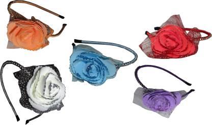 SAMYAK Floral Style Hair band Hair Accessory Set
