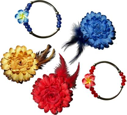 Paperiva Floral Style Tic-Tac Hair Accessory Set