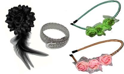 Bellazaara Floral Style Hair Accessory Set