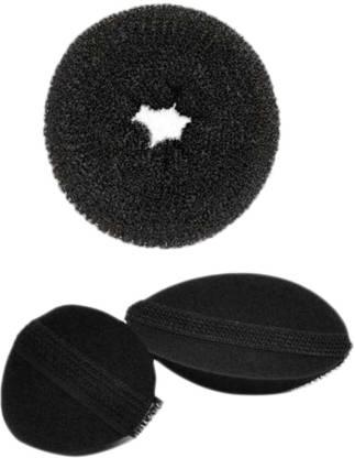 Homeoculture Medium Donut Volumizer Hair Accessory Set