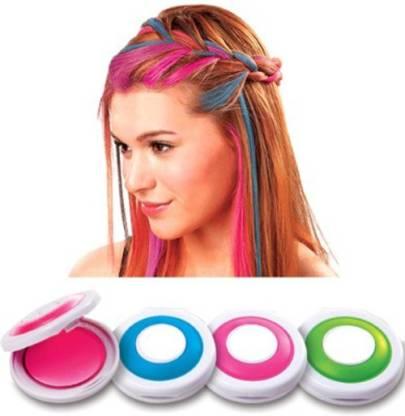 Divinext Temporary Chalk Hair Color , multicolor