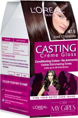 L'Oréal Paris Casting Creme Gloss - My Girls , Iced Chocolate - 415